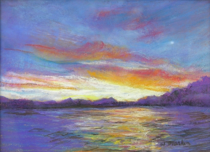 Canadian Sunrise II - Pastel